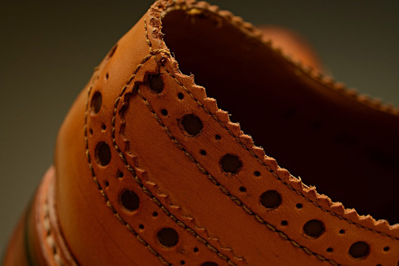 Grenson Archie Collar Close Up