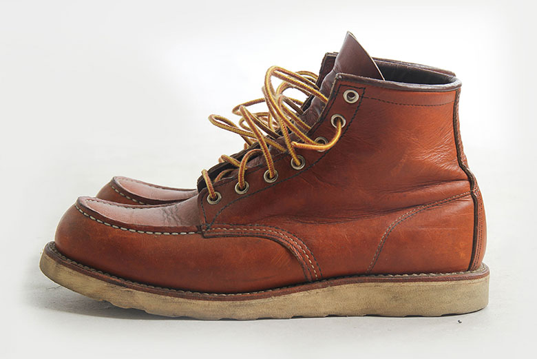 Red Wing Moc Toe 875 Side