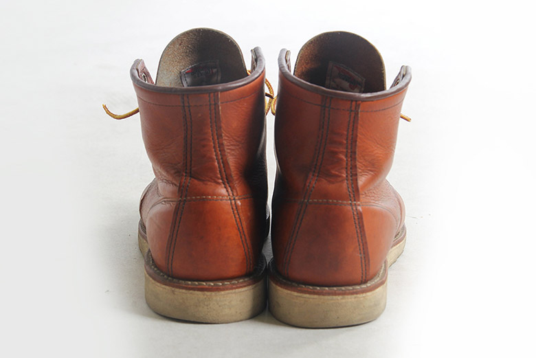 Red Wing Moc Toe 875 Back