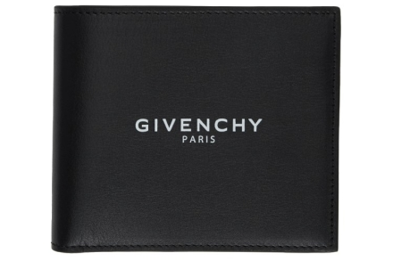 Givenchy Text Logo Billfold Wallet