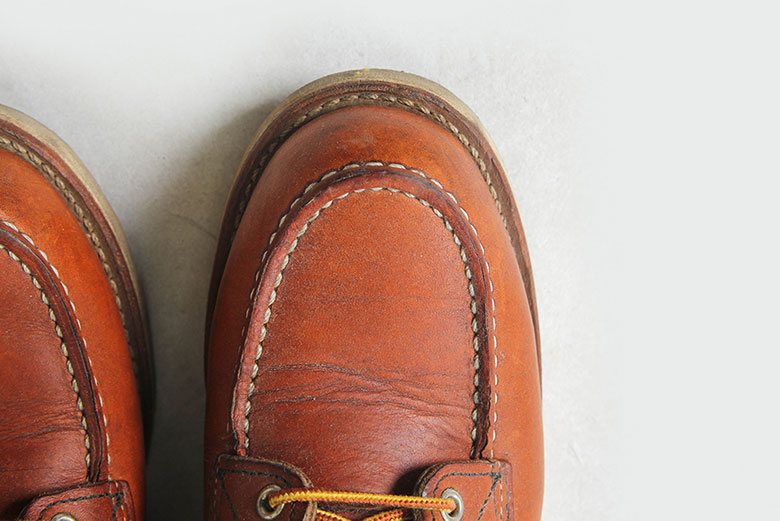 Red Wing Moc Toe 875 Toe Box Top