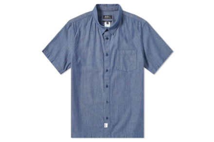 A.P.C. Short Sleeve Stripe Shirt