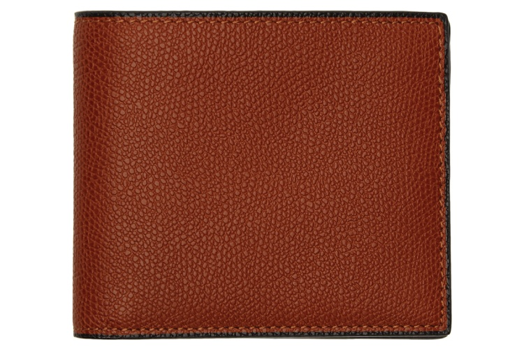 Valextra Red 6CC Wallet
