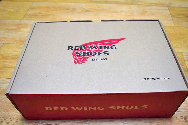 Red Wing Shoe Box