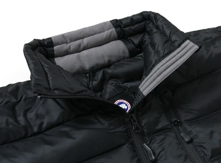Canada Goose Lodge Down Jacket Brushed Tricot Chin Guard