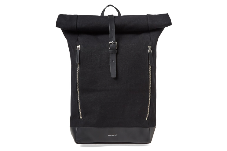 Sandqvist Marius Canvas Roll Top Backpack