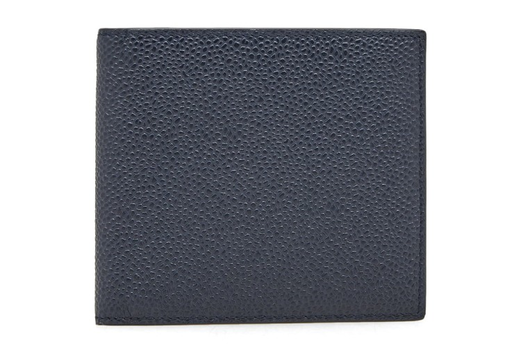 Thom Browne Bi-Colour Pebble Grain Billfold Wallet
