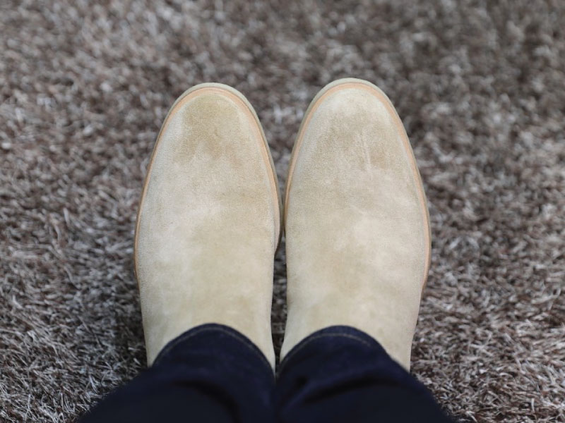 Common Projects Chelsea Boots Toe Box