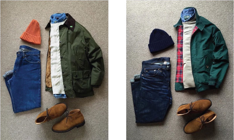 Clarks Desert Boots Casual Outfit
