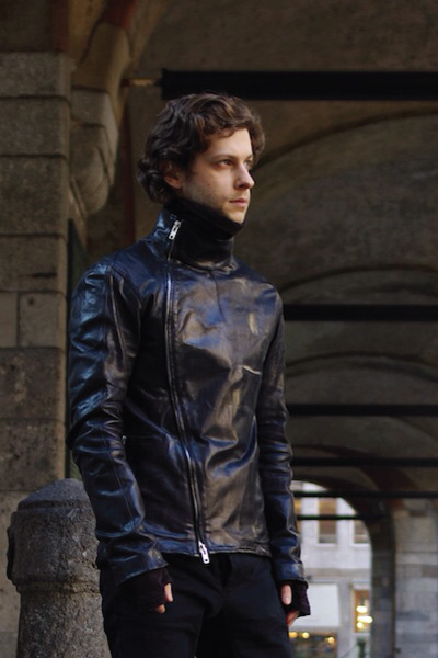 Fencing Leather Jacket Outfit