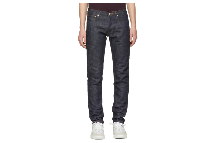 APC Indigo Raw Petit New Standard Jeans
