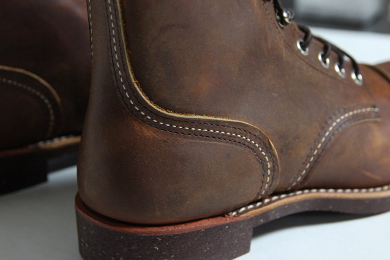 Red Wing Iron Ranger Heel Side