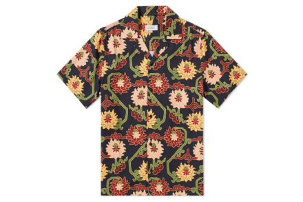 Saturdays NYC Canty Peony Shirt
