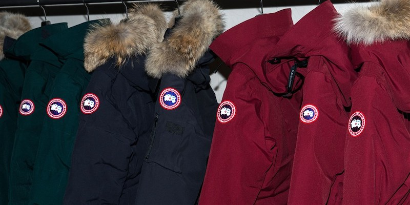 Canada Goose Jackets On Rack