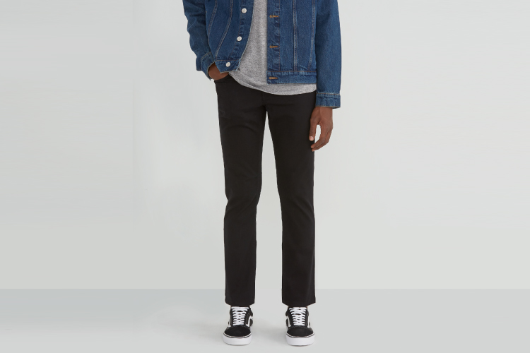 Frank and Oak The Lincoln Twill Pant Outfit