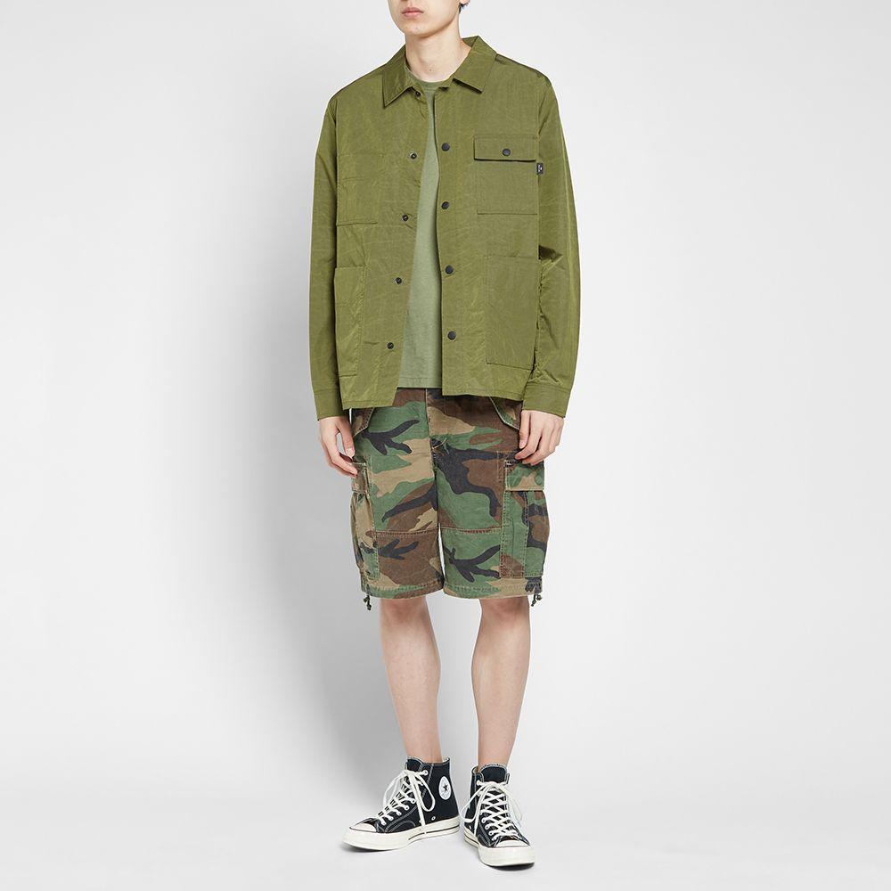 Polo Ralph Lauren Camo Cargo Shorts Outfit
