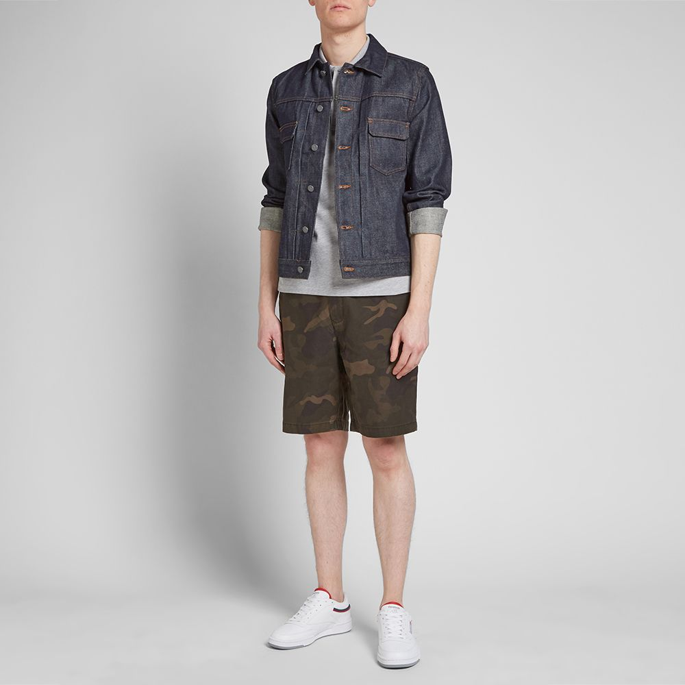 Barbour Bay Camo Shorts Outfit