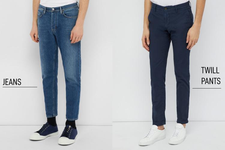 Twill vs Jeans
