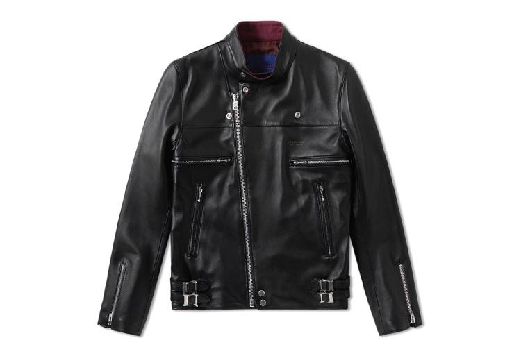 Undercover Leather Biker Jacket