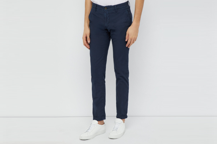 Incotex Slim Fit Twill Pants Outfit