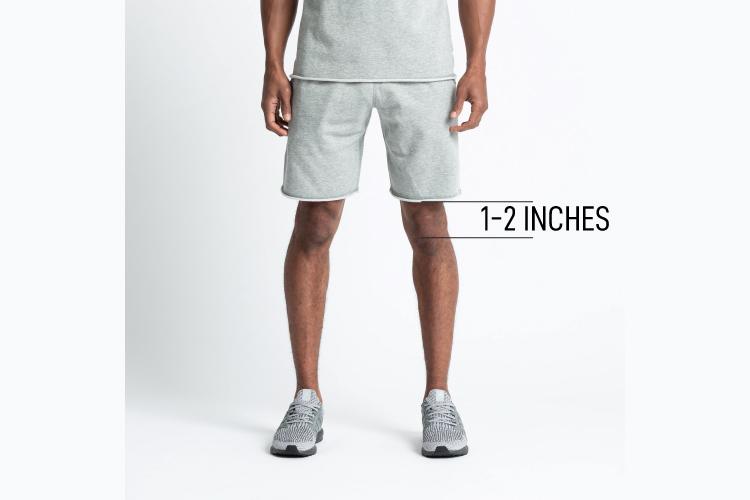Activewear Shorts Length