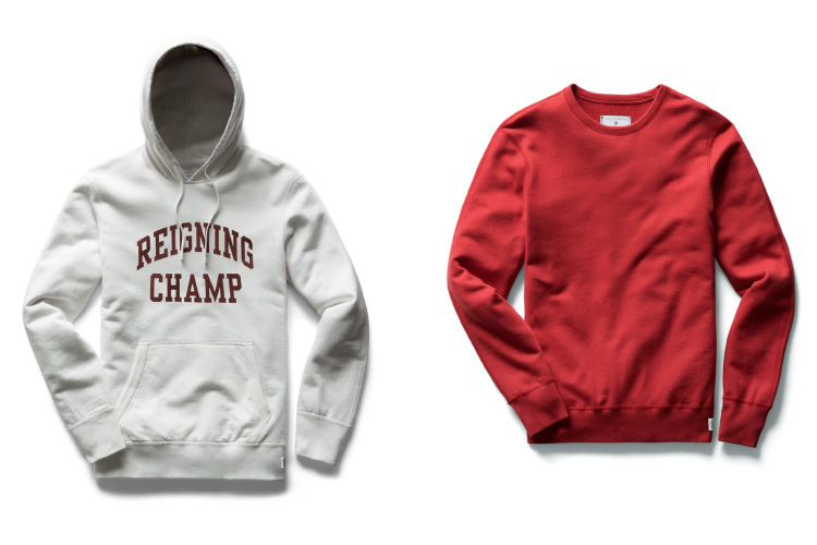 Reigning Champ Color Sweater