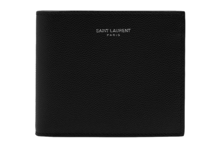 Saint Laurent Grain East/West Wallet