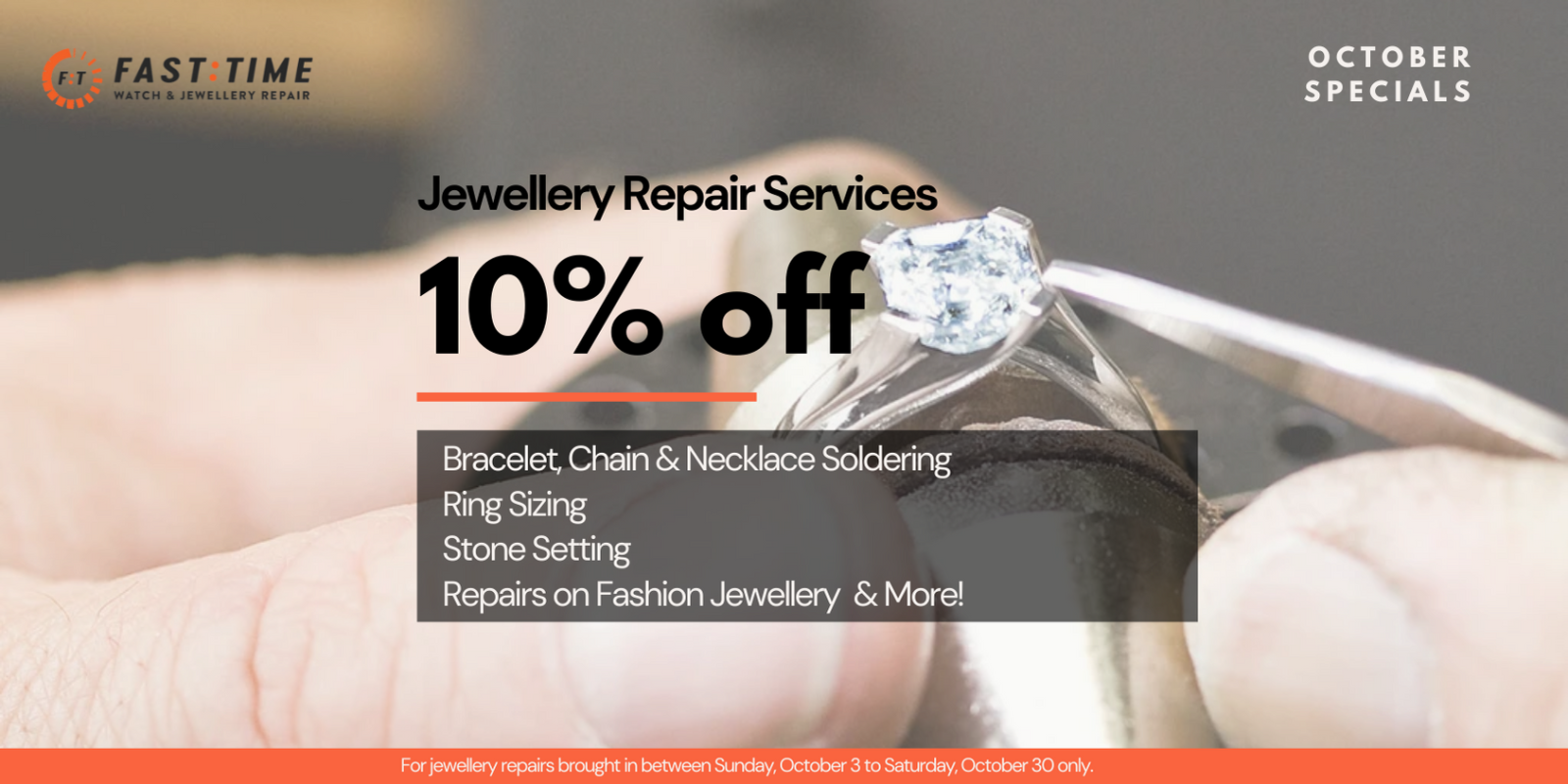 [Image] [offer] 10% OFF JEWELLERY REPAIRS