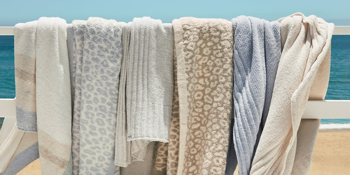 [Image] [offer] cozy new throws / limited time price $59.50