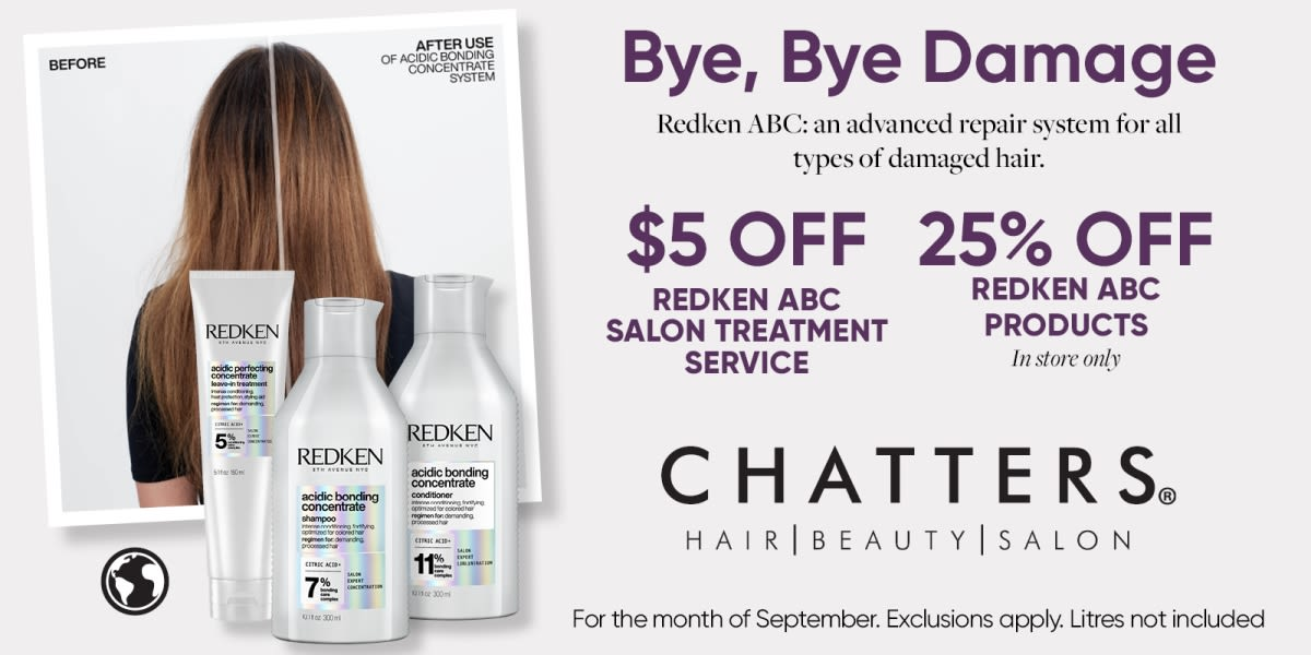 [Image] [offer] Chatters Hair Repair Savings with Redken ABC