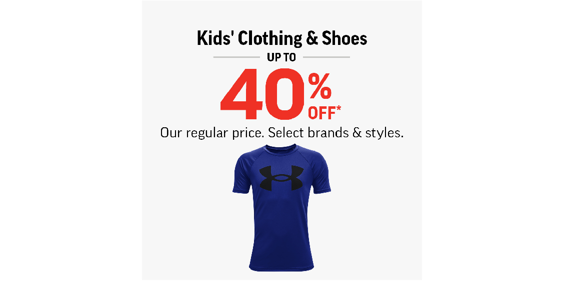 [Image] [offer] Kids Clothing & Shoes Up To 40% Off!