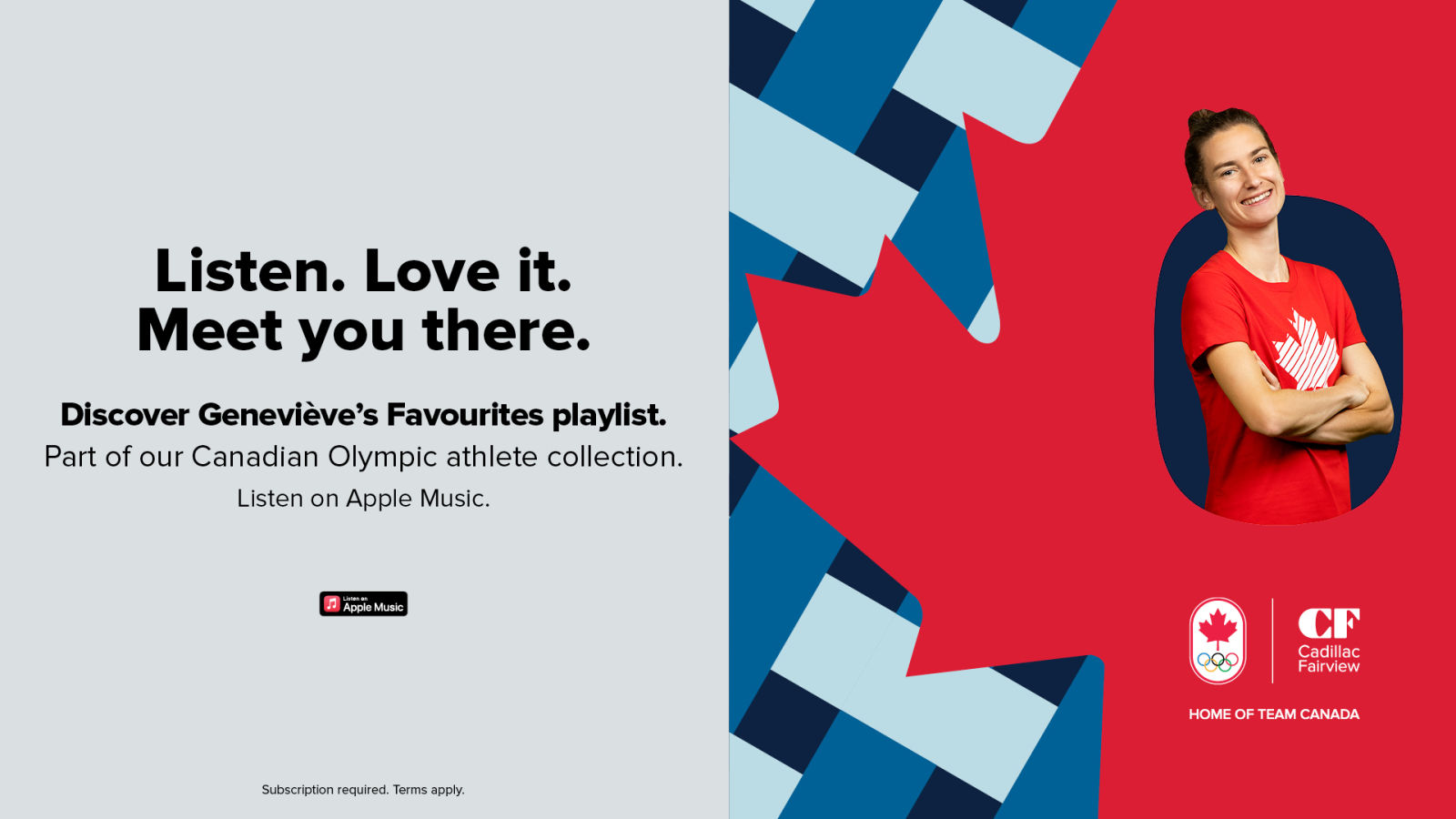 [CF Champlain] Geneviève Lalonde Apple Music Playlist