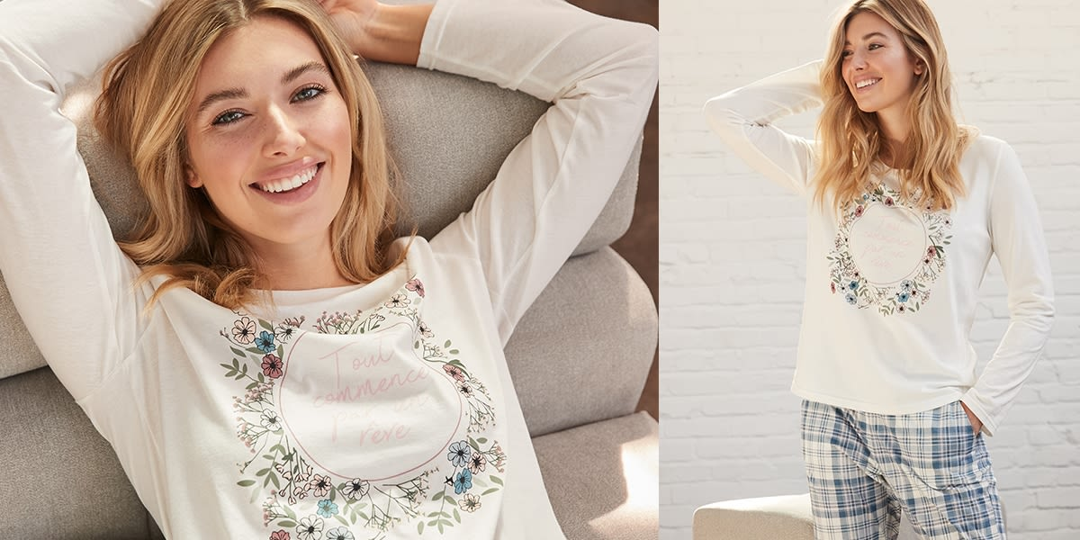 [French] [Image] [offer] Promo Dream in Cotton. 2 FREE when you buy 1. #mavieenrose