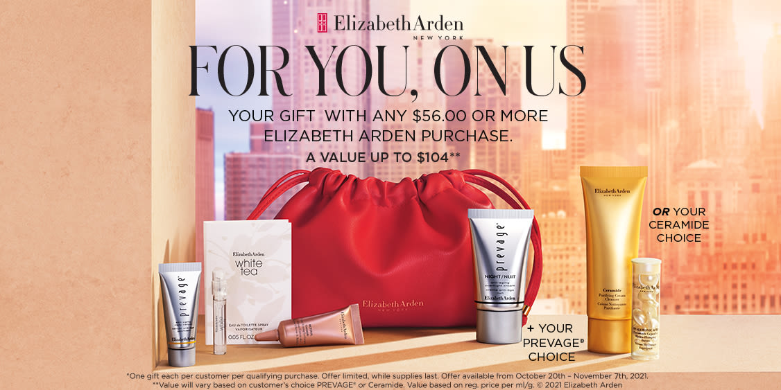 [Image] [offer] ELIZABETH ARDEN GIFT WITH PURCHASE - October 20th to November 7th, 2021