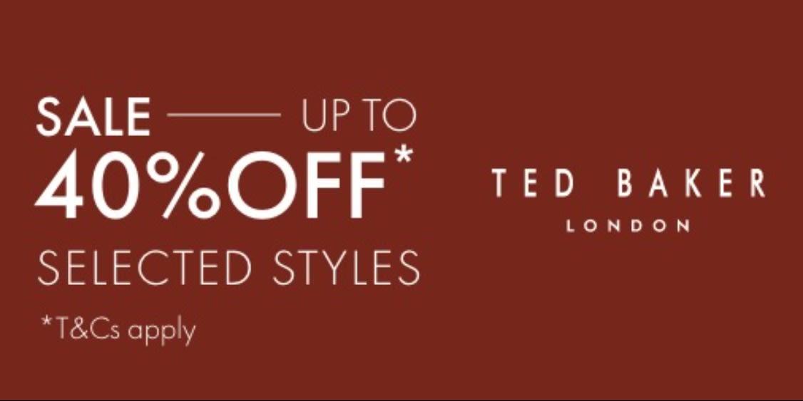 [Image] [offer] Ted Baker Sale