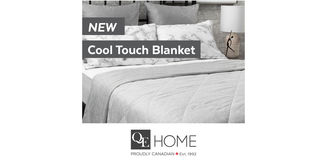 [Image] [offer] For the hot sleepers and warm weather sweat-ers, our Cool Touch Blanket has arrived!