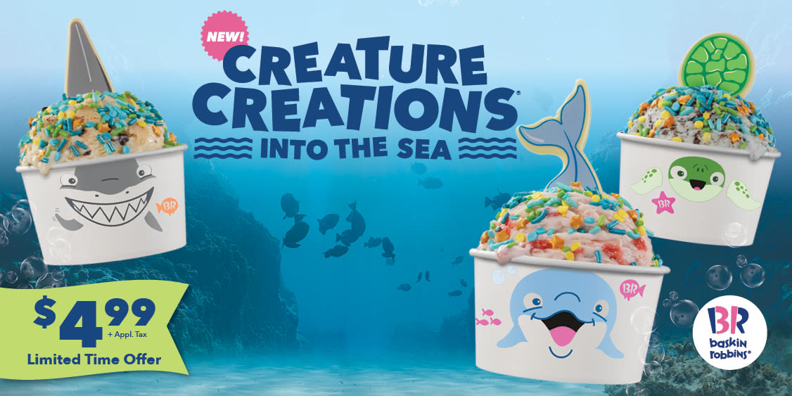 [Image] [offer] New! Creature Creations® Sea Creatures $4.99