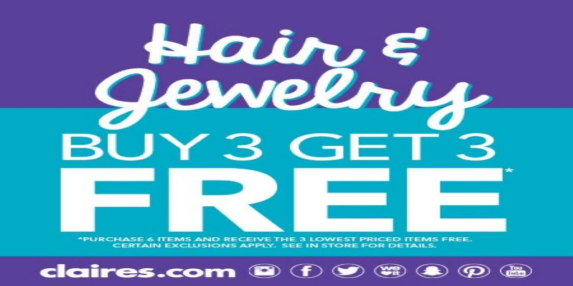 [Image] [offer] Hair and Jewelry Buy 3 get 3 Free