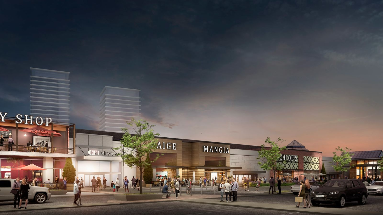 CF Greystone Announce Bold Vision - CF Fairview Mall