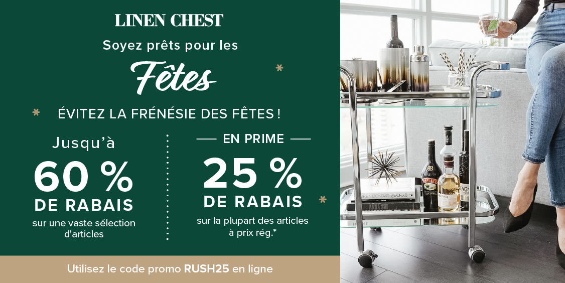 [French] [Image] [offer] Beat the Rush!