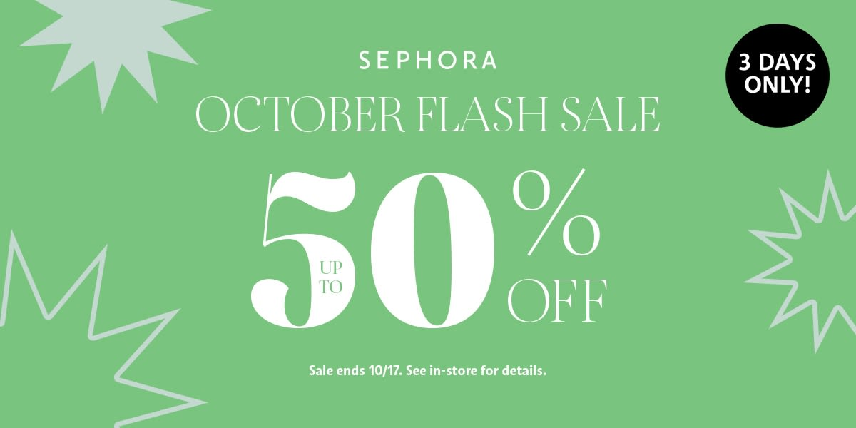 [Image] [offer] Flash sale at Sephora!