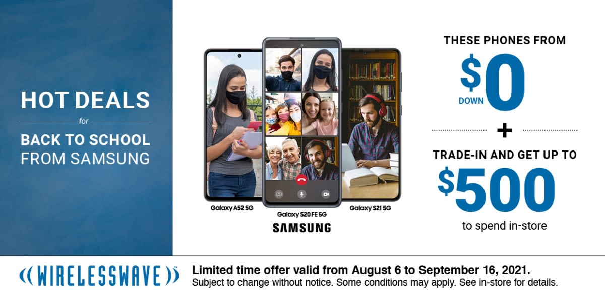 [Image] [offer] Hot Deals for Back To School from Samsung