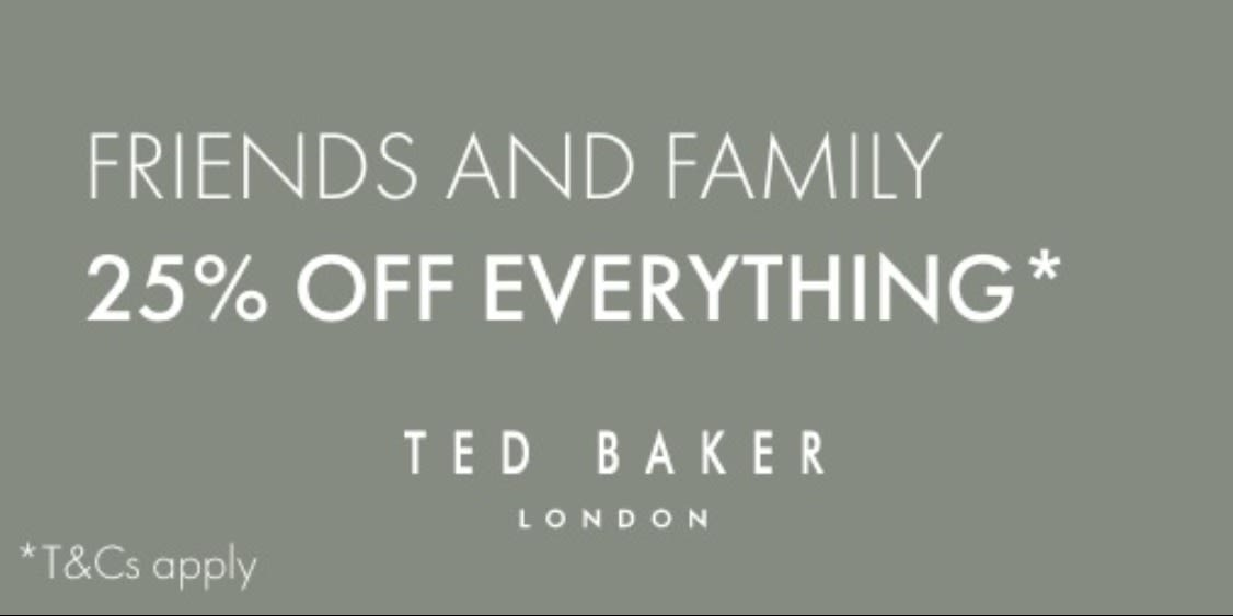 [Image] [offer] Ted Baker London Friends and Family