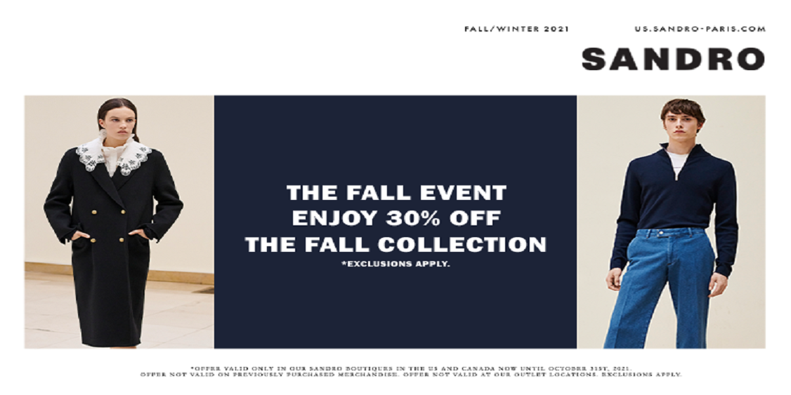 [Image] [offer] The Fall Event