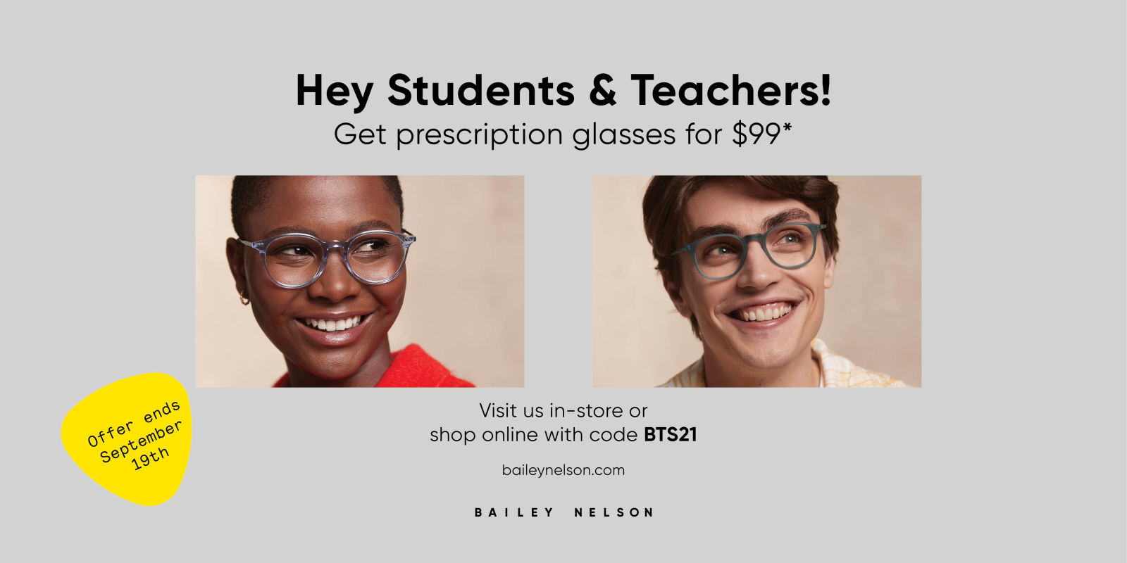 [Image] [offer] Hey Students & Teachers! Get glasses for $99*