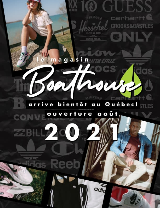 [CF Promenades St-Bruno] - Boathouse is coming soon!
