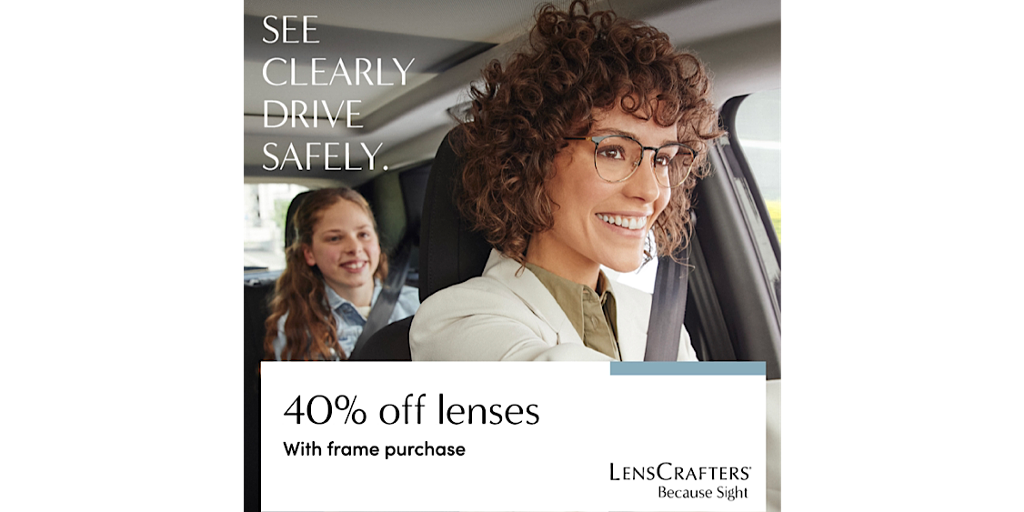 [Image] [offer] 40% Off Lenses with frame purchase