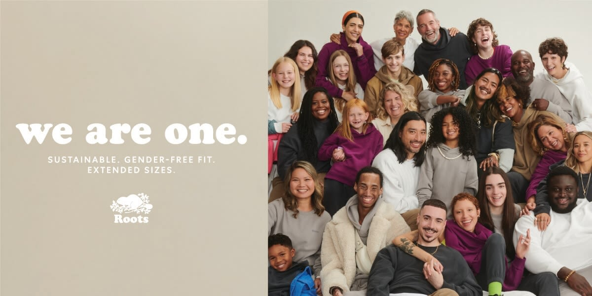 [Image] [offer] We are One. Sustainable. Gender-free Fit. Extended Sizes.