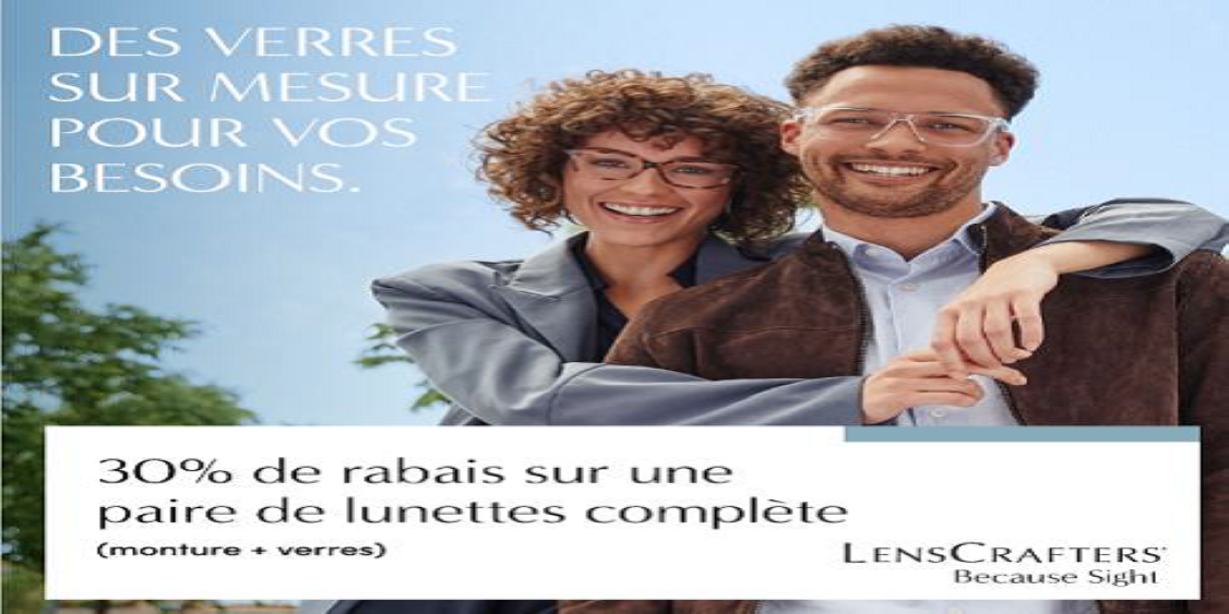 [French] [Image] [offer] Lenses Tailored to Your Needs