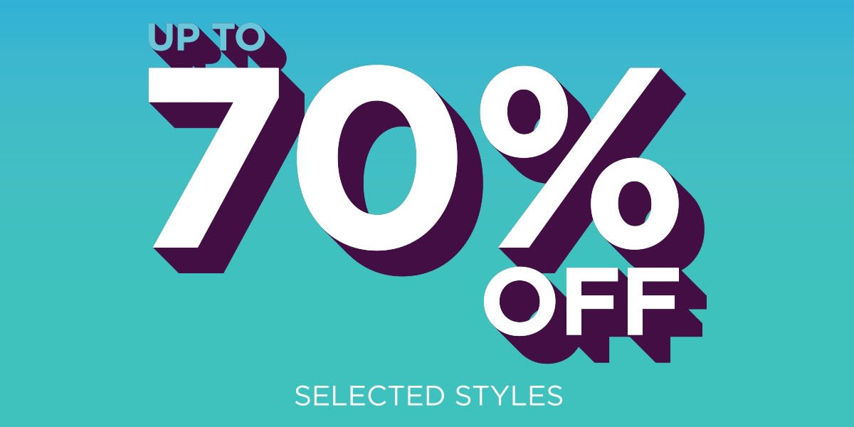 [Image] [offer] Up to 70% Off